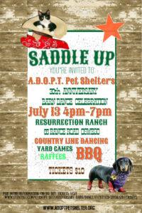 7/13 – A.D.O.P.T. 30th Anniversary Barn Dance!