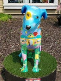 Naperville's Painted Summer Sculptures – Meet HOPE!
