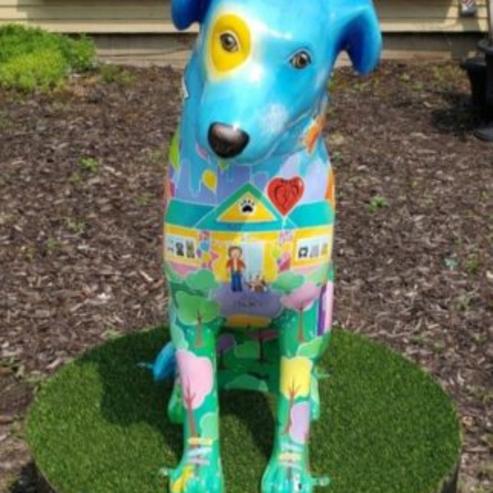 Naperville's Painted Sculptures – HOPE Takes 1st Place!
